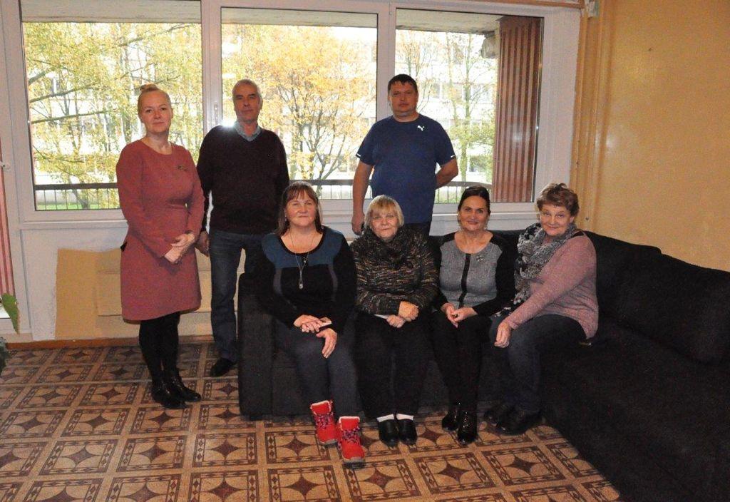 Ühispilt Leedu kolleegidega