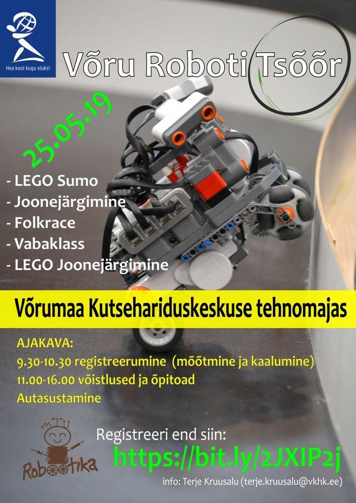 Võru Roboti Tsõõr plakat