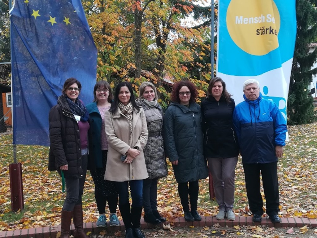 Partnerkoolide esindajad Saksamaalt, Leedust ja Eestist
