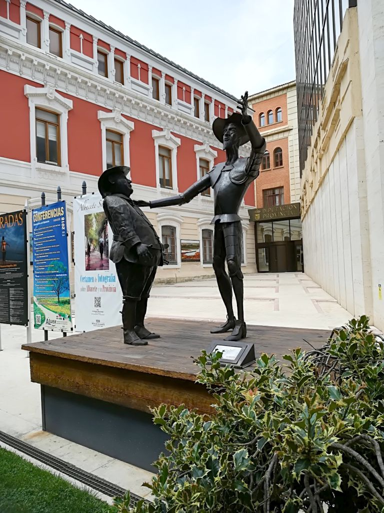 Don Quijote ja Sancho Panza monument