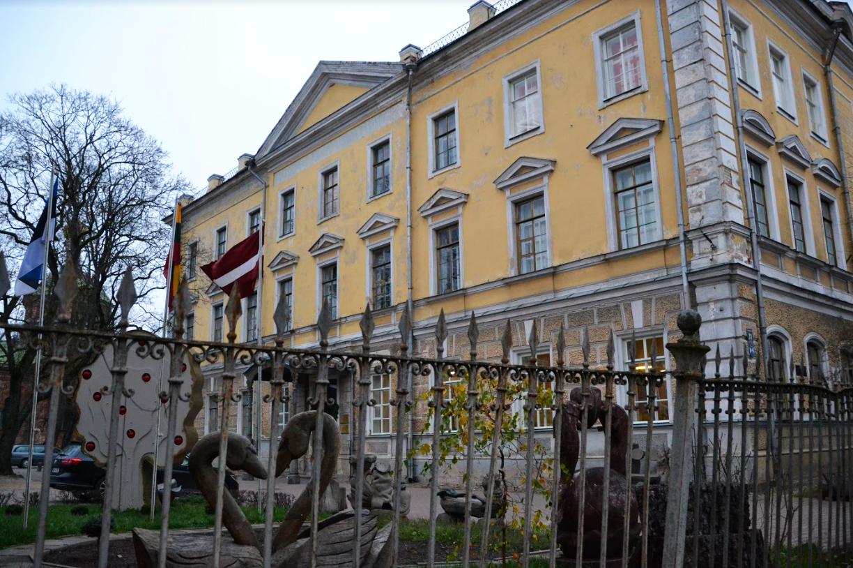 Vaade vanale koolimajale