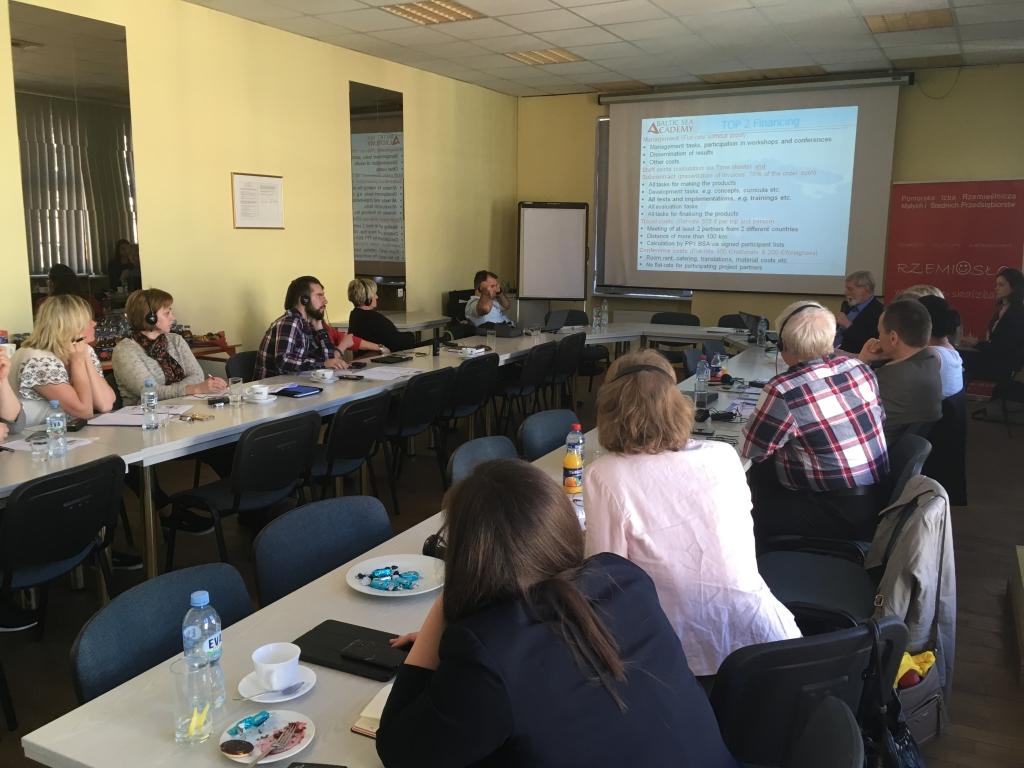 VKHK osales Gdanskis rahvusvahelisel konverentsil