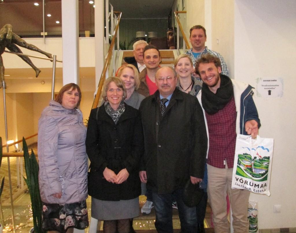 With german trainee teachers