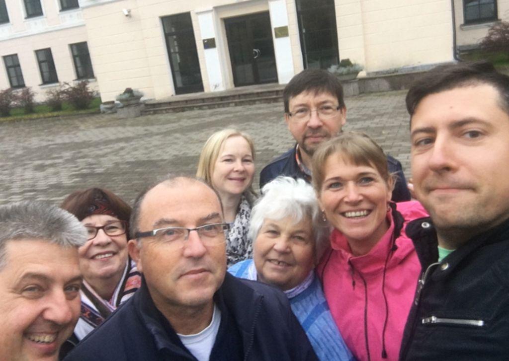 Giidi õppegrupp Malta turismivaldkonna õpetajatega