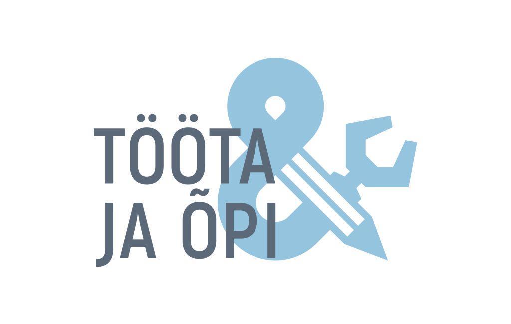 Logo tekstiga - Tööta ja õpi