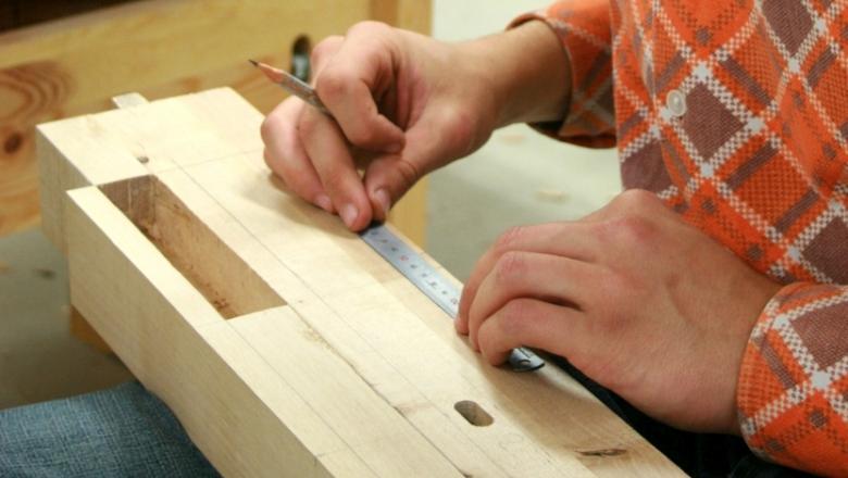 Mõõtude märkimine puidule