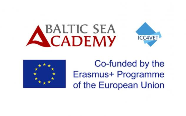 EL, Baltic Sea Academy ja ICC4VET logod